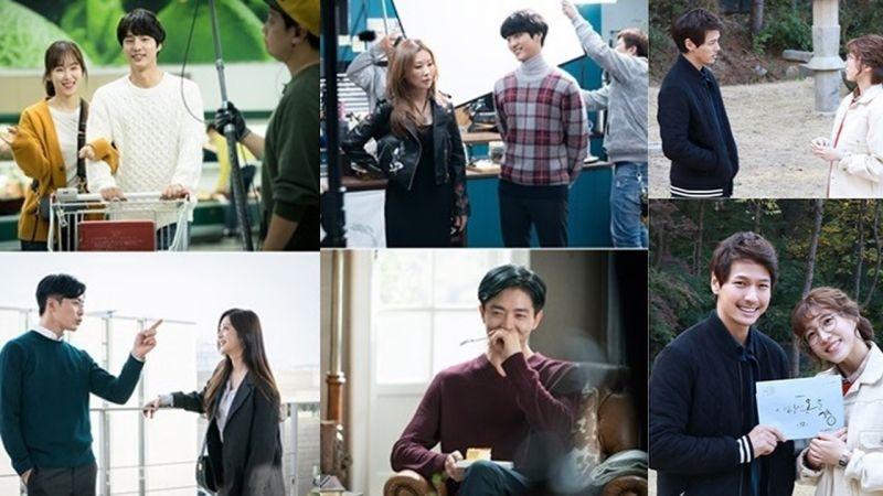 《愛情的溫度》片場花絮照公開 展現了演員之間的「最佳溫度」~鏡頭外的他們笑容滿滿啊!