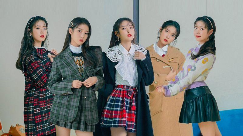 如果IU作為女團出道?網友:「每一個成員都是最愛!」