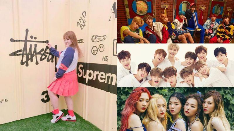 李國主真的很會跳耶~!防彈少年團、Wanna One、善美、Red Velvet大勢流行曲全到位cover~