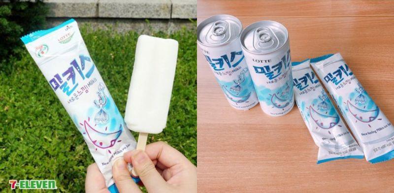 喜歡Milkis的朋友看這邊!要推出冰棒的版本了~