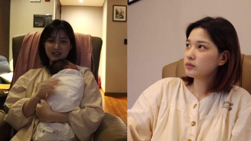 律喜曝懷雙胞胎體重胖到83公斤!抱著女兒時也表示:「希望能做到不讓她們感到累,我是媽媽,我可以的...」