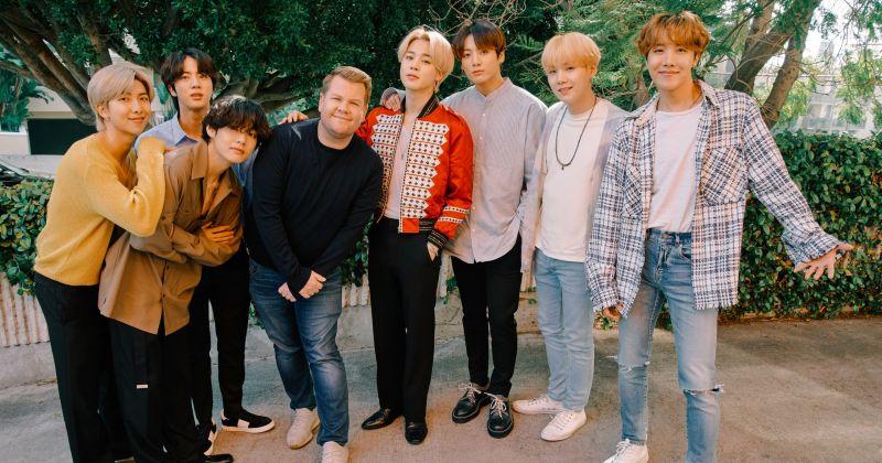 時隔一個月 BTS防彈少年團再度登上《The Late Late Show》!