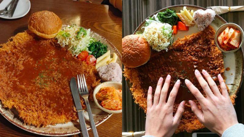 沒吃到姜虎東的招牌炸豬排?這家的「王」炸豬排比臉還大