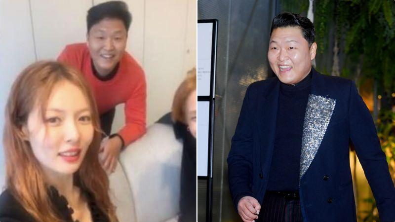 出現在泫雅直播裡的PSY暴瘦!被粉絲吐槽身材管理失敗,努力又胖回來了XD