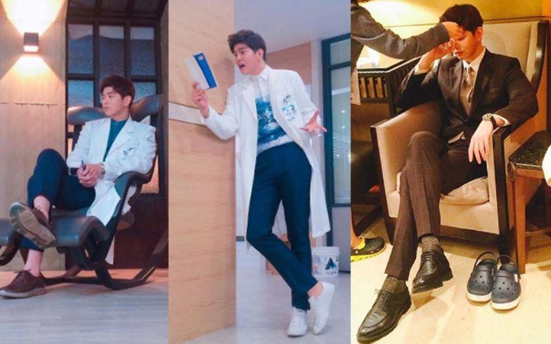 怎麼拍他 腿都超長的男演員尹均相