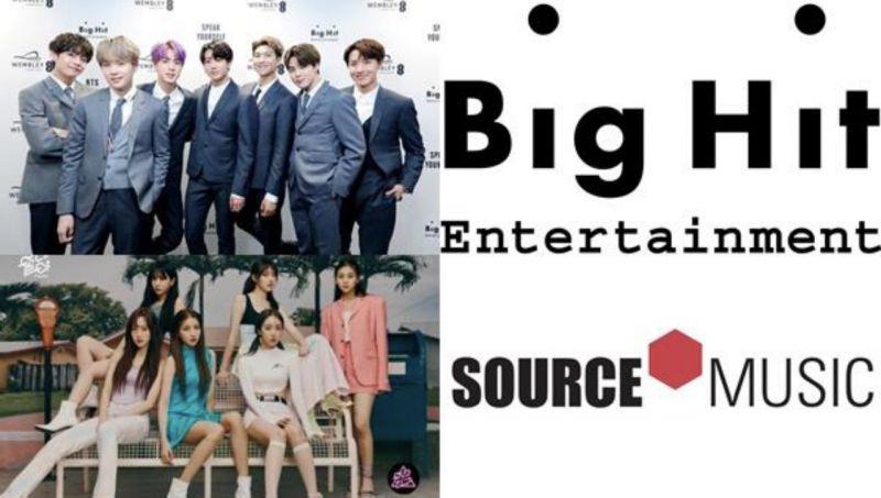 BIGHIT收购Source music!BTS防弹少年团会和GFRIEND合作吗?