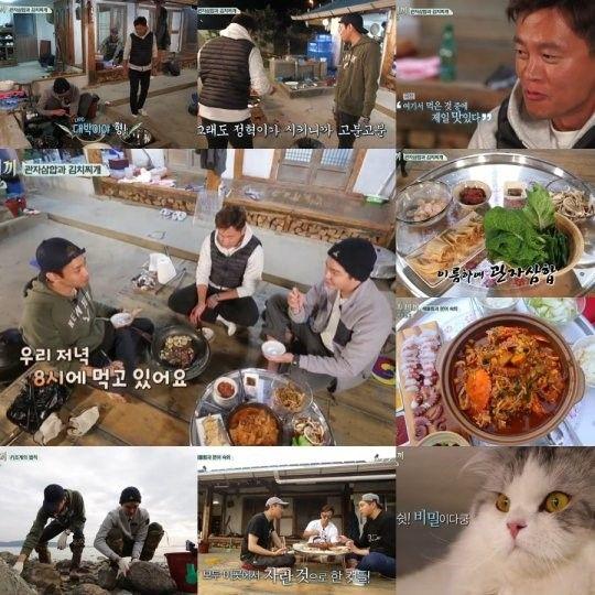 《一日三餐漁村篇3》連續五周拿下同時段收視一位 Eric逗貓獲得最高收視率
