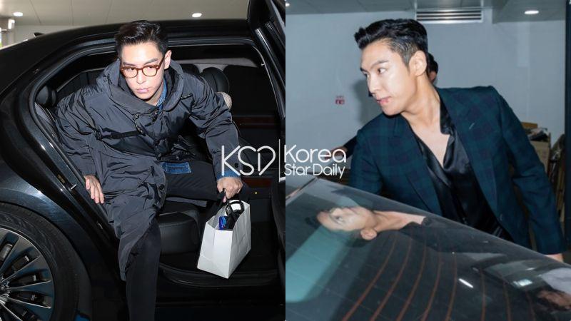 T.O.P退伍當天一日換兩身衣服:韓國網友扒出價格後驚呆了!
