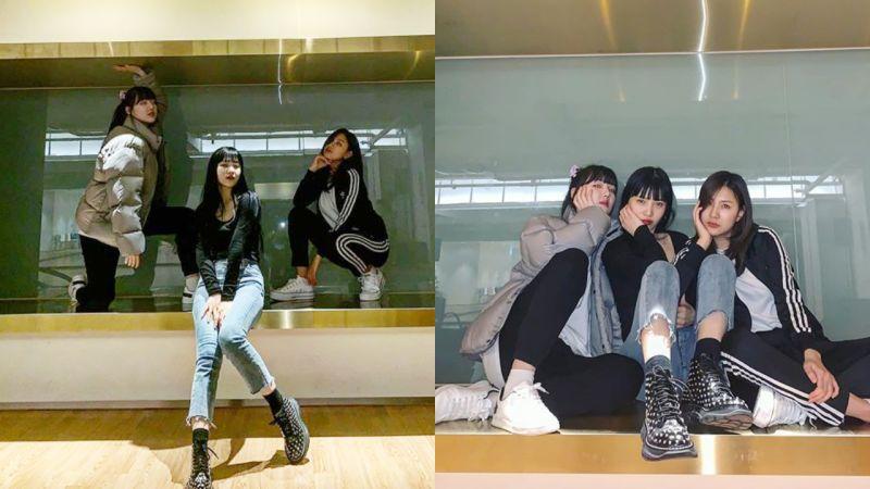聚在SM练习室!Red Velvet JOY-Apink吴夏荣-GFRIEND艺琳年末有合作表演?