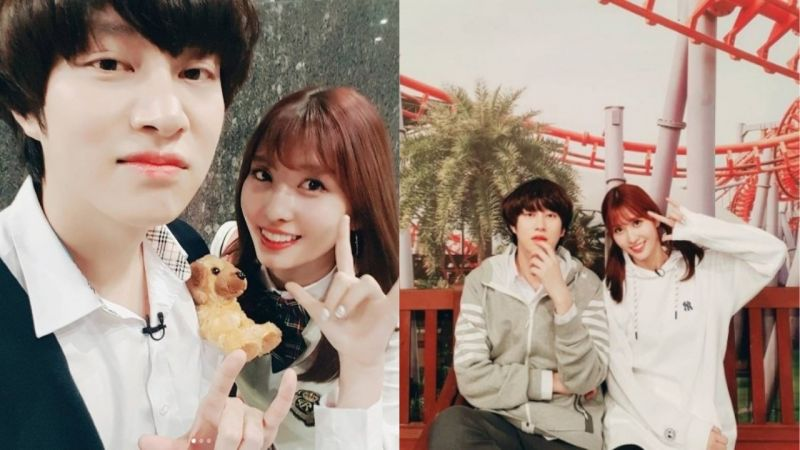 SJ金希澈&TWICE MOMO被爆已經戀愛兩年!SM:「只是平常親近的前後輩,戀愛傳聞並不是事實!」