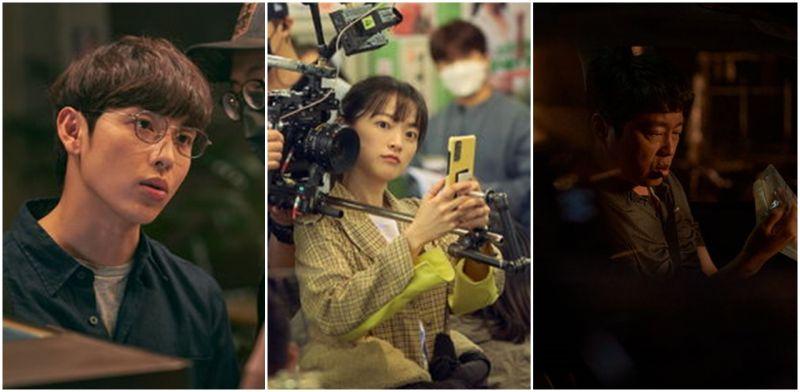 任时完+千玗嬉+金希沅写实悬疑新电影《以为只是手机掉了》杀青