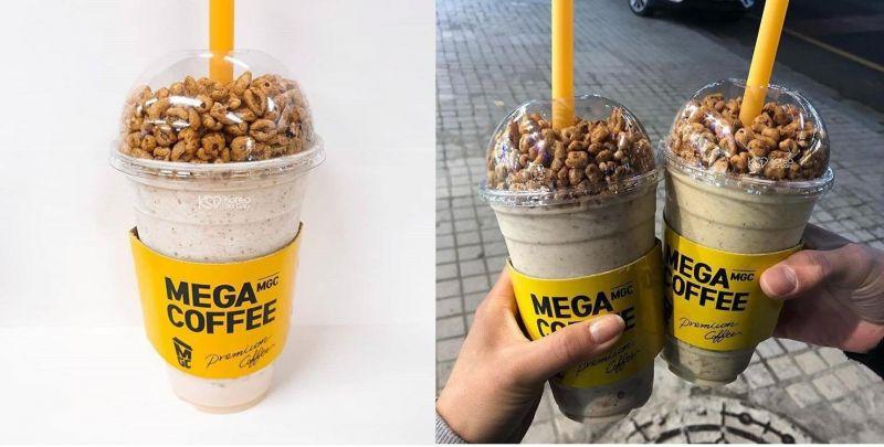 這真的會喝飲料喝到飽!MEGA COFFEE王牌菜單:爆米花奶昔
