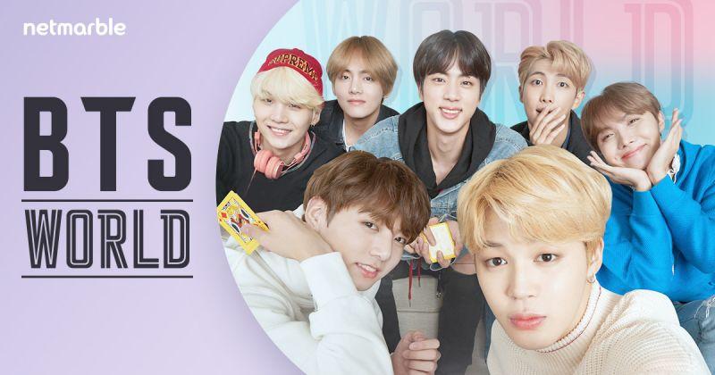 BTS防弹少年团做什么都成功 《BTS World》OST 征服海内外榜单!