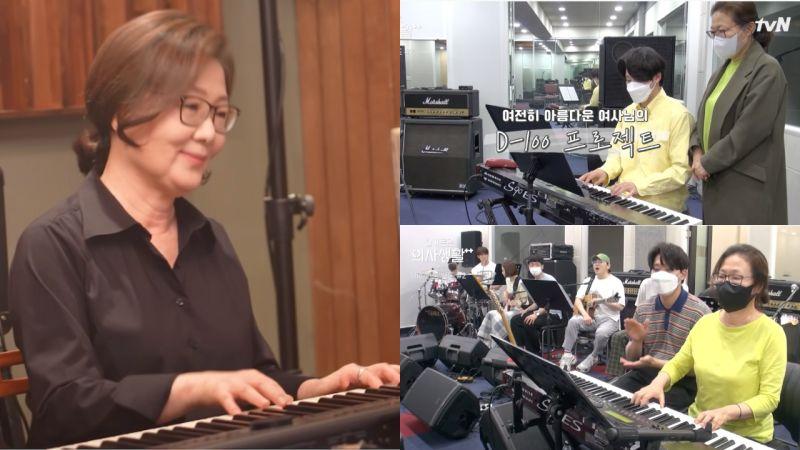 《机智医生生活2》乐队花絮!「罗莎」金海淑为了弹琴画面准备100天,首次合奏真的好感人!