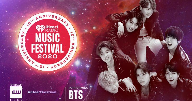 BTS防彈少年團再度獲 iHeartRadio 邀請 9 月參加線上音樂祭!