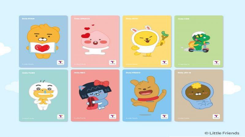 超Q!T-MONEY 新推出KAKAO FRIENDS 小BABY版卡片