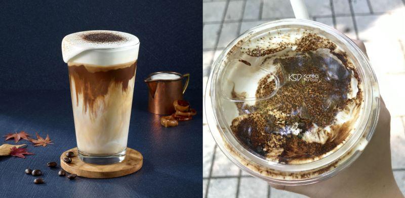 在韓國Starbucks的新品:維也納咖啡——成為你的人生咖啡!