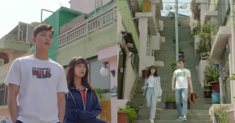 《三流之路》的南日公寓在这!有要去釜山玩的人一定要去拜访他们的家啊!