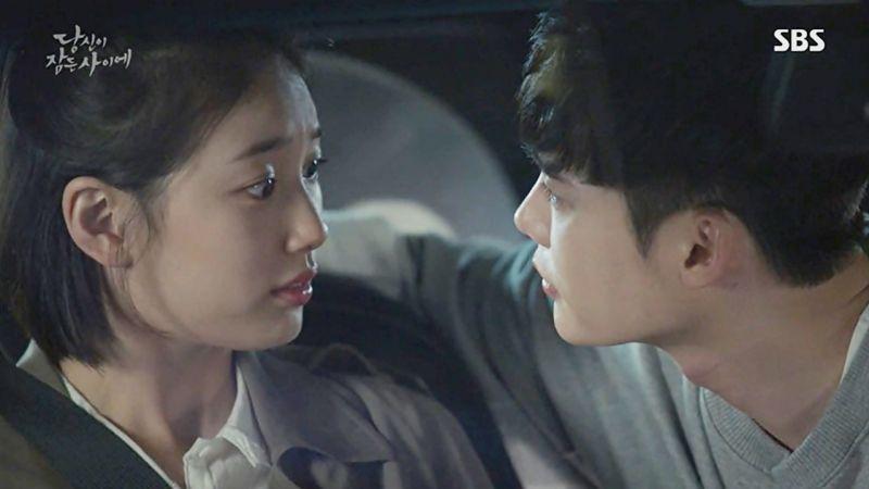 《當你沉睡時》李鍾碩浪漫索吻秀智現實上有沒有成功?這個瞬間讓人大爆笑啊~!
