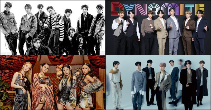 《首尔歌谣大赏》WhosFandom 奖前四强出炉!EXO、BTS防弹少年团、GOT7 与 MAMAMOO