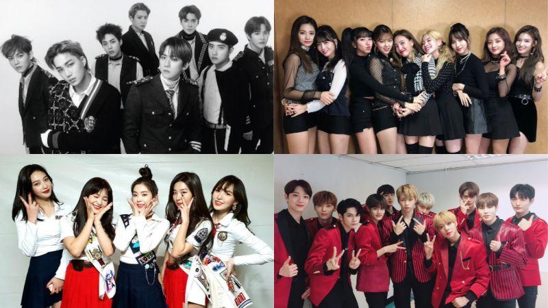 【11月听什么?】下个月KPOP超热闹!EXO、TWICE、Red Velvet和Wanna One都要回归啦!