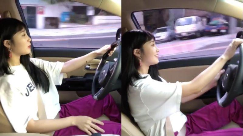 超暖心!Apink恩地为疲累的经纪人开车,这也让经纪人表示:「疲劳瞬间消失了!」