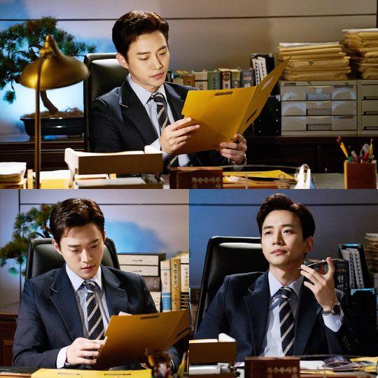 2PM俊昊出演新剧《金科长》剧照公开 变身帅气检察官