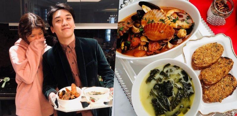 好有愛~BIGBANG勝利公開「鄰居姐姐」李是英為他做的生日餐!