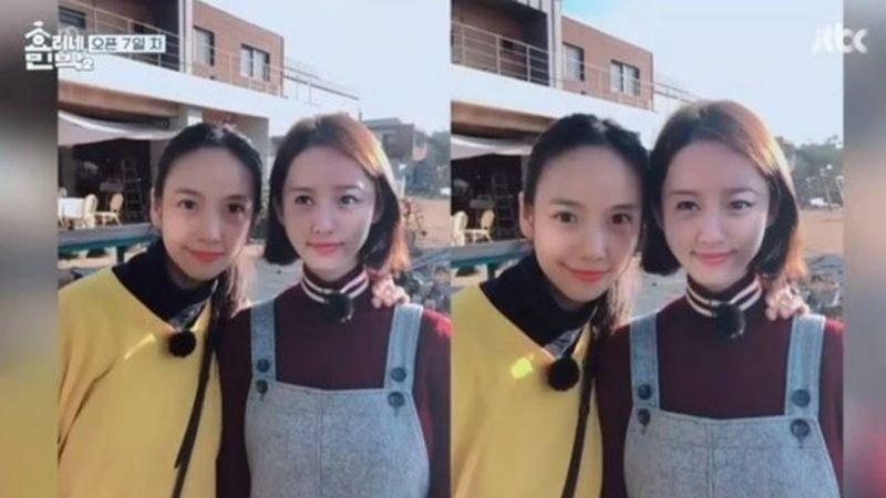 有顏任性!李孝利&潤娥玩換臉APP 美得驚呆朴寶劍