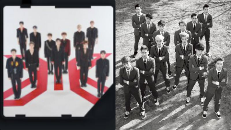 Copy & Paste?X1预告照被指抄袭6年前EXO概念,都是「X」惹的祸吗!?