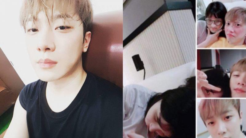 FTISLAND崔敏煥與女團成員正在戀愛中!兩人親密合照曝光!