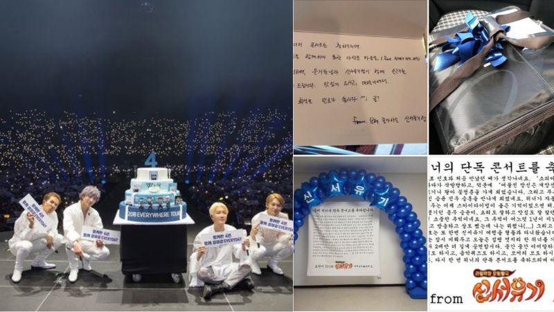 真的超用心!《新西游记》制作组再为WINNER演唱会送上应援,还有来自妙汉的信!