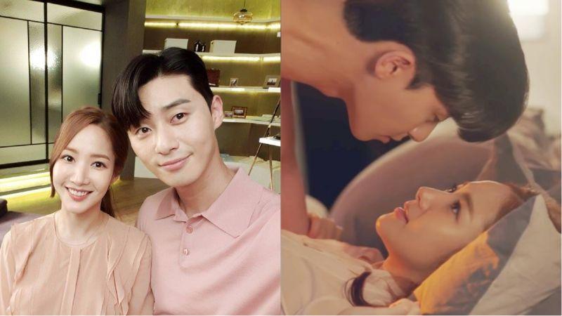 對於《金秘書》第13集朴敘俊和朴敏英的吻戲!tvN的反應是...在等待放送委員會召喚?