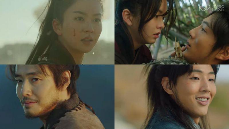 金所炫&金志洙主演古装新剧《月升之江》预告公开!2021就先站这对CP吧~