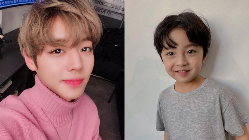 他倆可能是韓劇史上最像的成人&童年角色:《遠看是蔚藍的春天》朴志訓&徐宇真撞臉度100%!