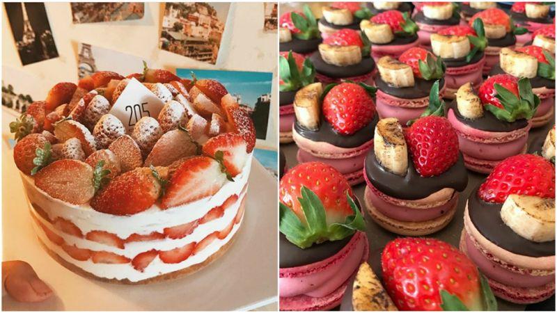 【光州必吃】这个鲜奶油草莓蛋糕太犯规了吧!到底是在吃蛋糕还是草莓XD