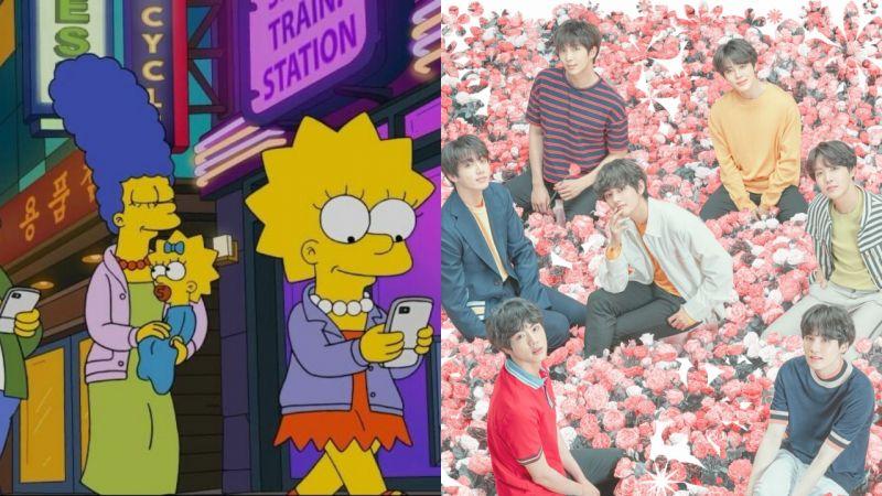 BTS防彈少年團出現在《The Simpsons》動畫!ARMY也算出場了?