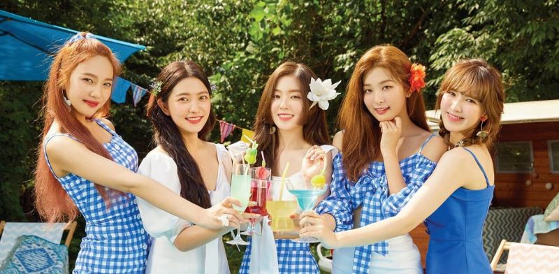 Red Velvet和SM前辈们一起跳《Power Up》「波涛舞」