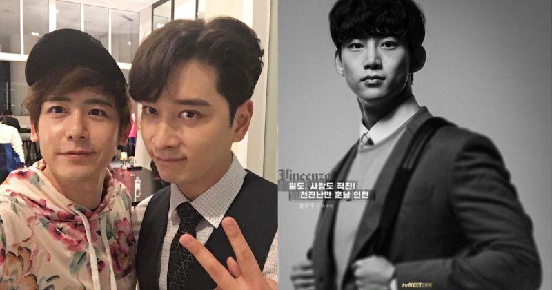 2PM 的义气!Nichkhun、黄灿盛为玉泽演客串《黑道律师文森佐》