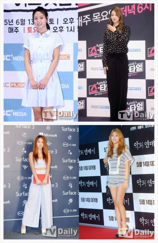 女團的對決?A Pink普美、AOA雪炫、Sistar昭宥和寶拉出演《Running Man》!
