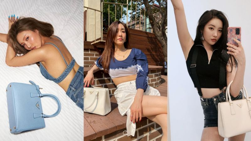 韩国女星最近超爱的手袋!时尚果然是个圈,经典又回来了~
