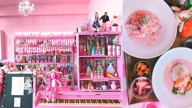 【濟州島cafe】如要去濟州島的朋友~怎能錯過這家粉紅咖啡店