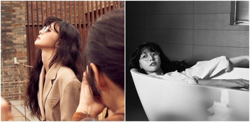 《梨泰院CLASS》权娜拉自然风画报正片与幕后拍摄花絮公开