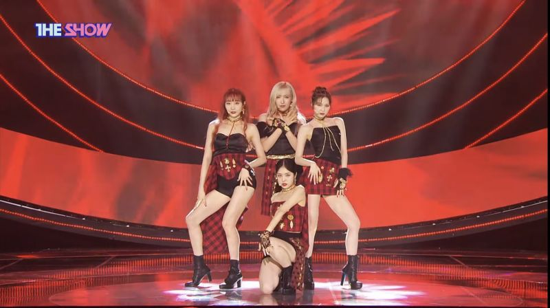 SKYLE於《Show Champion》公开了出道舞台!实力女团再次登场~