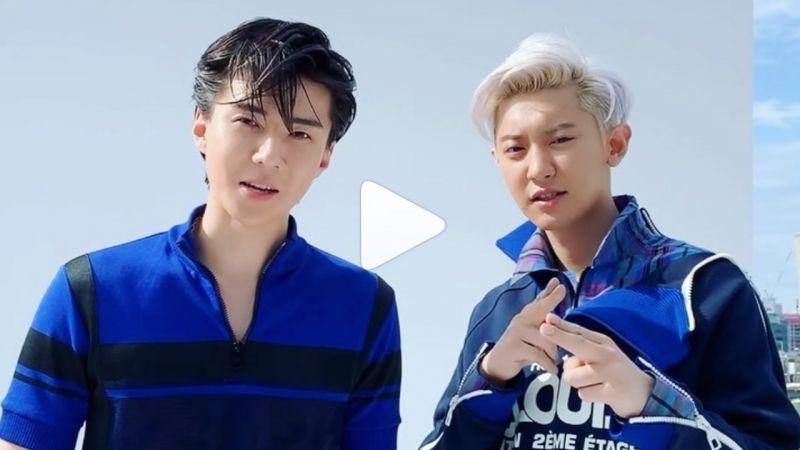 EXO「竹馬Line」燦烈&世勳小分隊合體最新花絮影片!攜手登上七月雜誌封面