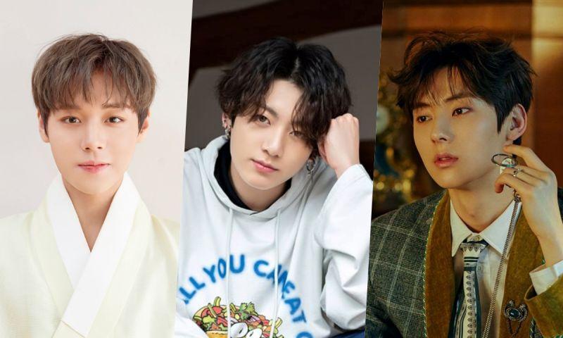 最近韓國男生最愛的整形範本男藝人! 田柾國&朴志訓&黃旼炫都上榜