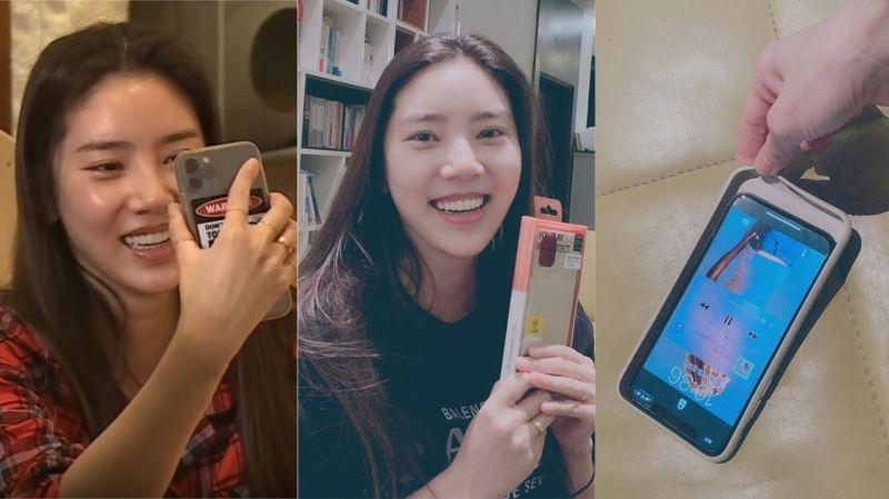 因出演《我獨生》引起話題…孫淡妃收到粉絲送的手機殼!開心拍攝認證照後卻發現:「嗯?尺寸不合」