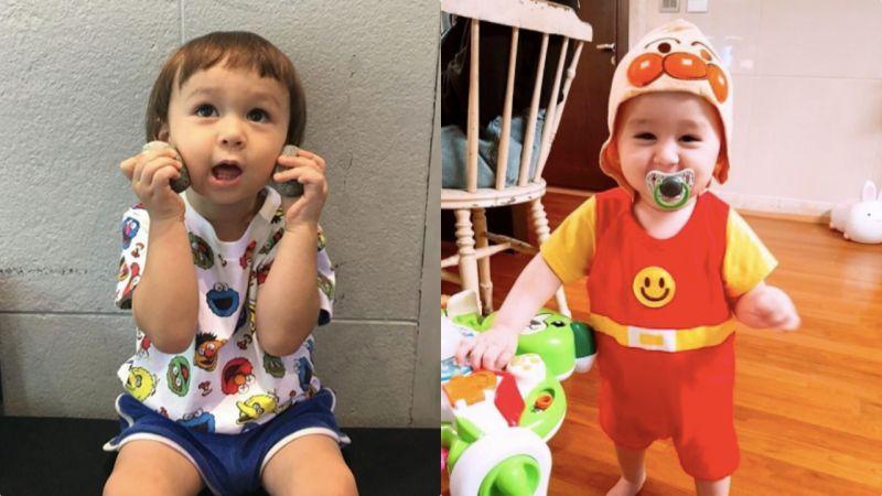 《超人回來了》Sam一家真的是勤儉持家的典範:弟弟Bentley穿的都是哥哥William的舊衣服!