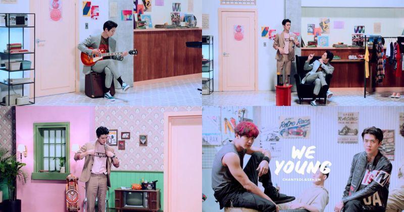 EXO 燦烈&世勳唱出青春價值 新歌〈We Young〉橫掃海外音源榜!