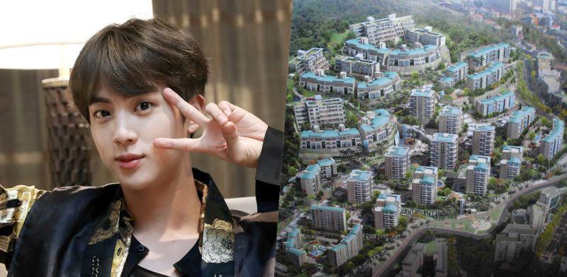 全款買房不借貸! BTS防彈少年團Jin豪擲19億現金購入個人住宅